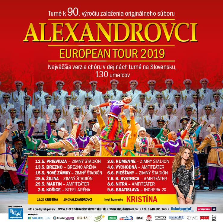 9cd5053af Alexandrovci prídu v rámci svojho turné na - Kam v meste | moja Nitra