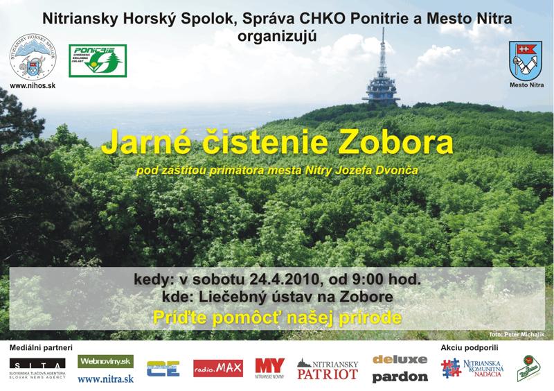 6f6a0a6f7 Jarné čistenie Zobora - Gastro | moja Nitra