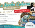 La NOCHE Cubana - Kubánska noc vo Wellness Hotel Patince ****, spravodajnitra.sk