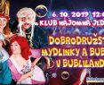 Obrovské bubliny, úžasná hudba a veľa zábavy - Dobrodružstvá Mydlinky a Bublíka v Bublilande, spravodajnitra.sk