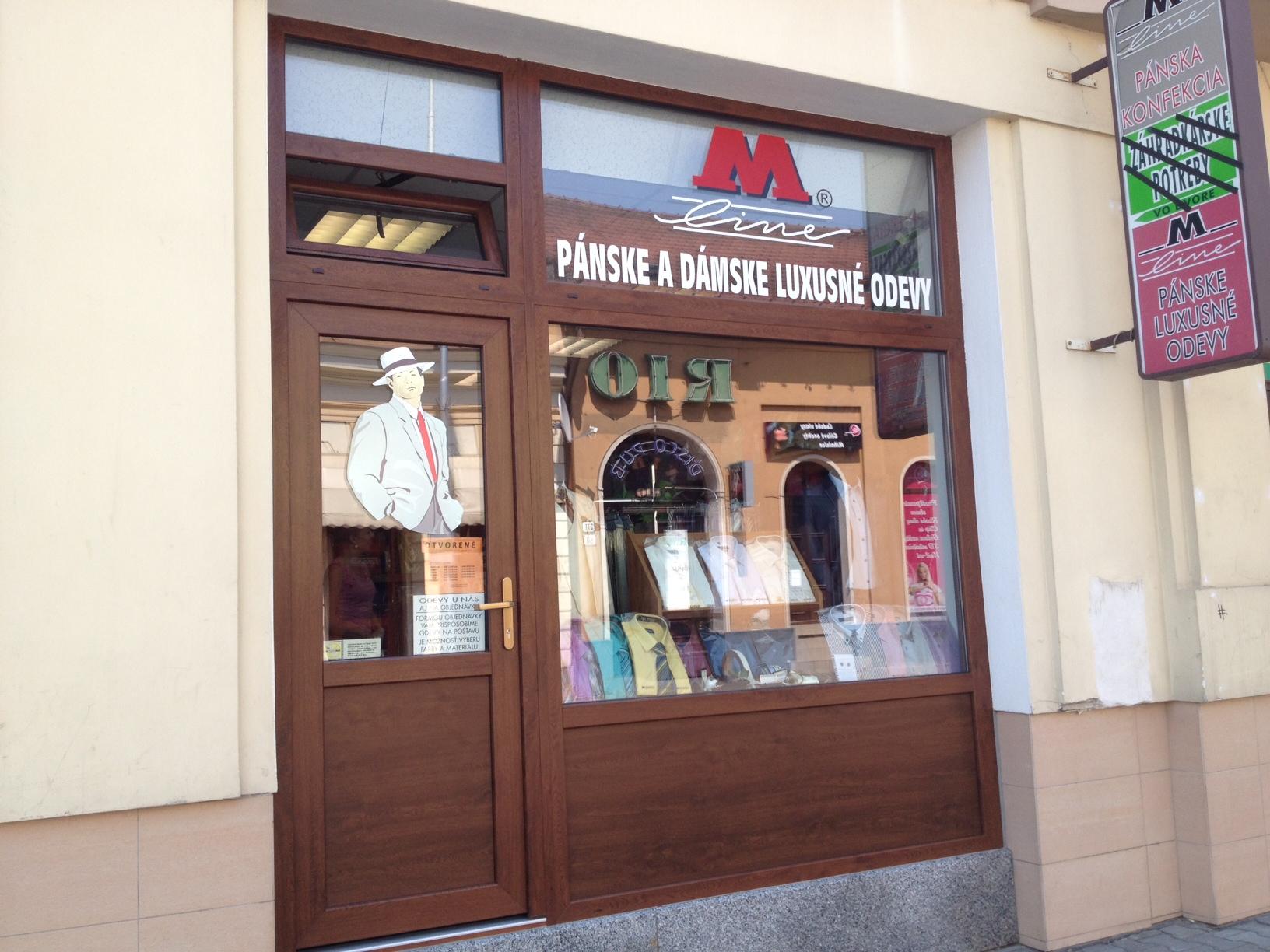 30a24c511fb1d Pánska konfekcia M-line Nitra - luxusná pánska móda aj na objednávku ...