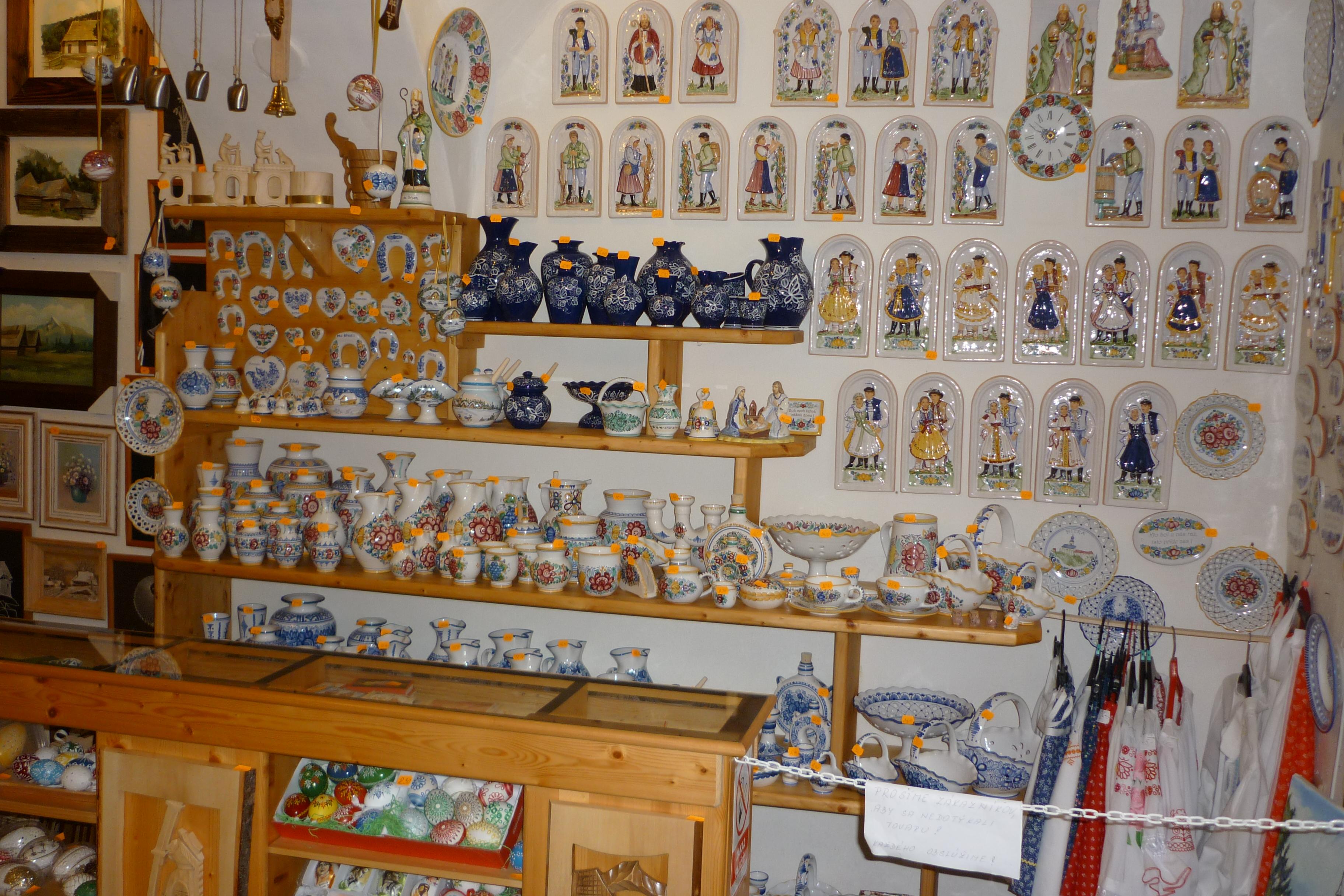 9539a23e2ca70 SLOVENSKÝ SUVENÍR Nitra - obchod s tradíciou, prísľubom kvality a ...