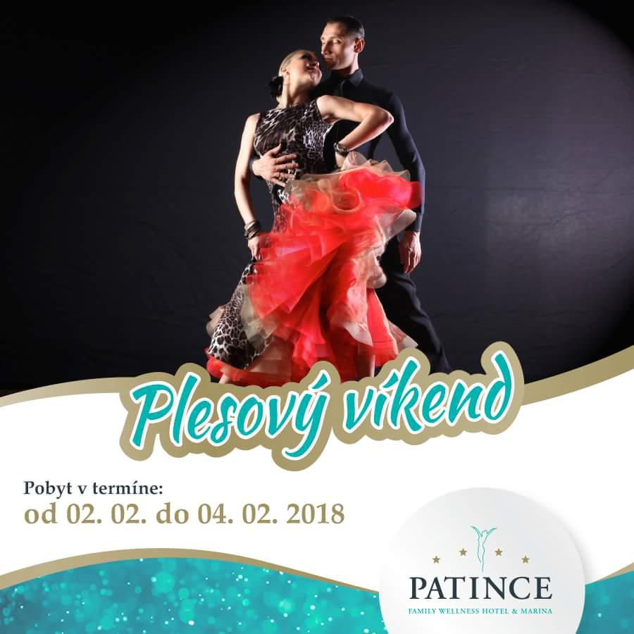Plesový víkend vo Wellness Hotel Patin - Šport a relax  6565dbbb703