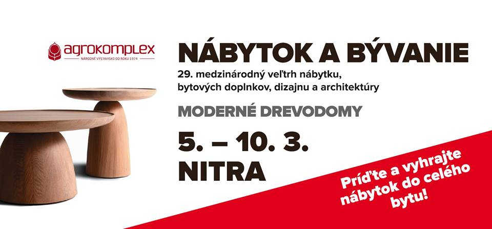 e2226639f2d3 Výstava Nábytok a Bývanie 2019 v Nitre