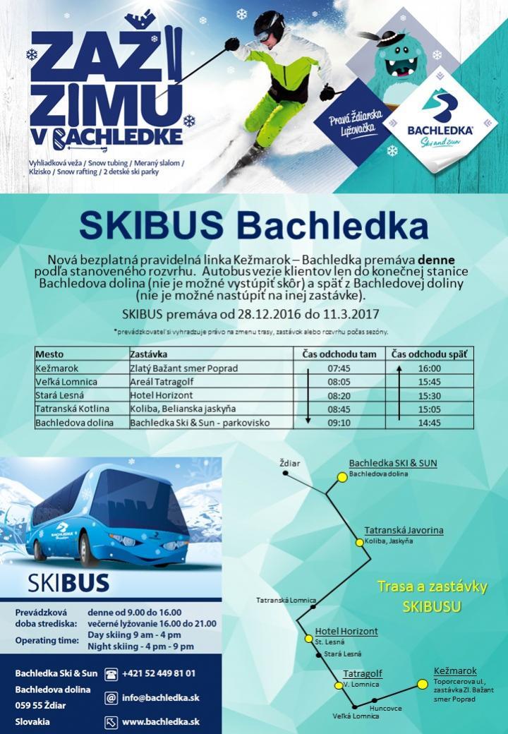 8b77ba404e2 BACHLEDKA Ski   Sun - zábava pre celú - Dovolenky - Zima